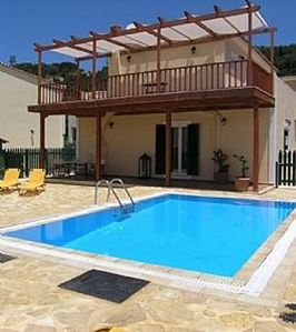 "Photo for Villa(3 BDRM)Near""Blue Flag""awarded Beach In Popular Tsilivi-Private Pool & WiFi"