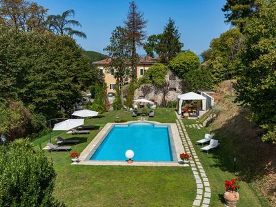 Photo for Villa Vorno is a wonderful villa near Lucca, with private pool, air conditioning, 5 bedrooms 3 bathr