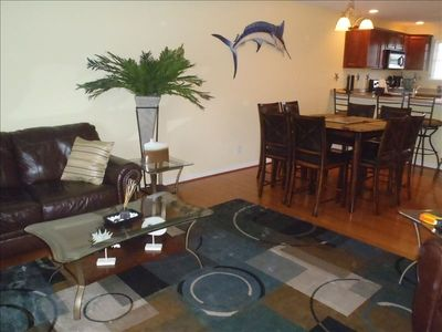 Photo for Beautiful Luxury Townhouse Short Walking Distance to Beach and Boardwalk