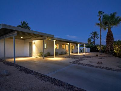 Photo for Private Mid Century Charmer 3 Bed 2 Bath Salt Pool