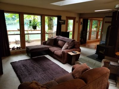 Photo for Skagit River Waterfront Home in the Cascade Mountain Foothills