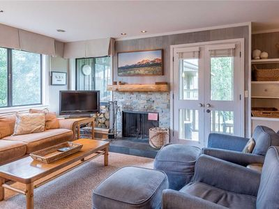 Photo for New Listing! Remodeled Three Bedroom Across from the Historic Sun Valley Lodge and Ice Rink