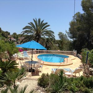 Photo for Lovely Villa With Pool, Seaviews, Peaceful & Private. 3 min drive to beach