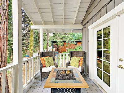 Front Deck - Welcome to Tahoe City! This bungalow is professionally managed by TurnKey Vacation Rentals.