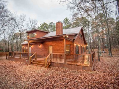 Photo for All Decked Out-Sleeps 8, Hot tub, Wifi, Sleeping Porch