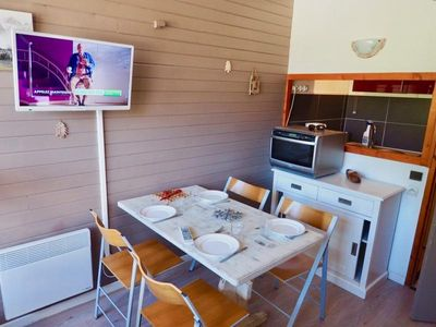 Photo for Apartment Valfréjus, studio flat, 4 persons