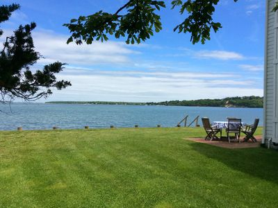 Photo for Dream Beach House on the North Fork: Waterfront, Private Beach + Stunning Views