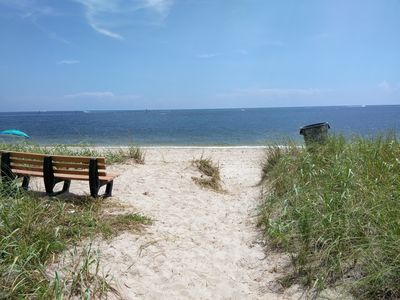 Photo for Spacious 2 bdrm 2bthrm, across from beautiful private beach access