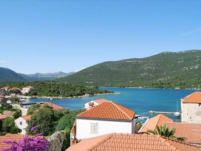 The wonderful view from Villa Katarina