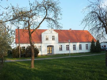 with attention to detail restored country house, not far from the island of Usedom