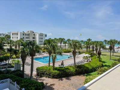 Photo for Horizons West #111 on Siesta Key is a 1 Bedroom Unit with a View of the Gulf of Mexico