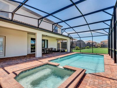 Photo for Stylish 8BD/6BA Home With Private Pool Near Disney World