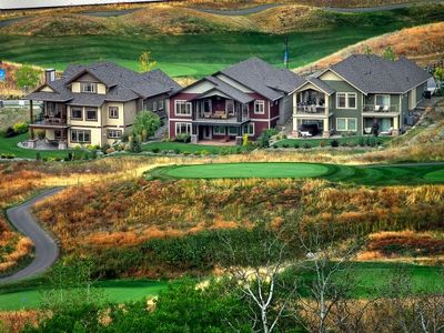 The 1 St, 2nd, 8th, 9 th 7th Tee!  The Golf Course Is Right In Your Backyard!