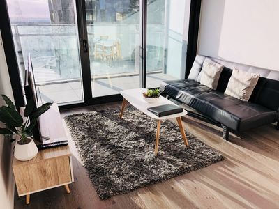 Photo for Lovely Apartment Docklands Harbour Waterview @ Free Secure Parking