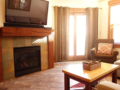 Photo for Outstanding 2BR in River Run. Heated pool & slide, steps from gondola and shops