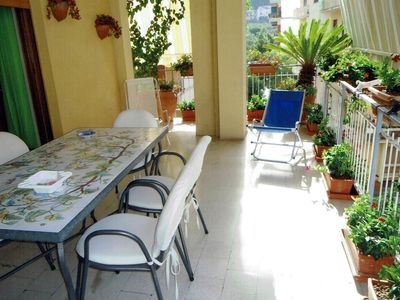 Photo for Apartment Semafla 3 in Sorrento, with two bedrooms, kitchen, balcony 10 sleeps