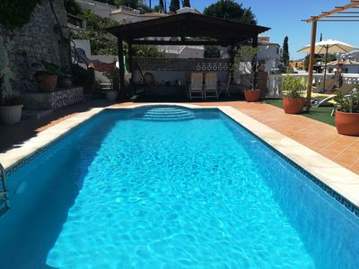 Photo for House with pool, terraces, magnificent views of the Tropical Valley and near the sea