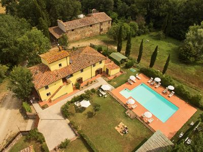 "Photo for Spacious Country House ""Covo"" in Tuscany with Pool"