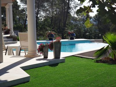 Photo for Studio of 35 m2 in villa near Golf St Endreol