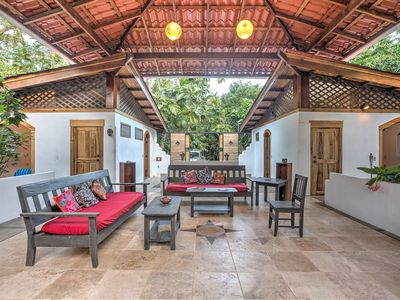 Photo for Entire 3 bedroom Gorgeous House in the Jungle by the Sea