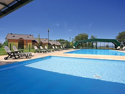 Photo for Apartment 792 m from the center of Lugrin with Parking, Internet, Washing machine, Pool (531086)