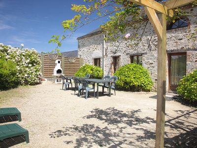 Photo for Les Forges, large gite with pool in the Vendée grove