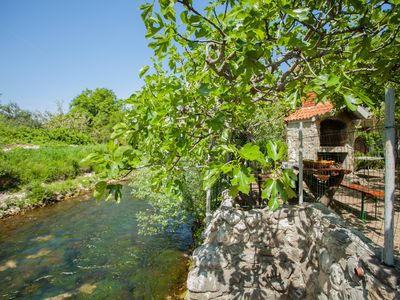 Photo for House with large garden, right next to the river