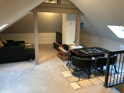 Photo for Large room in attic (air-conditioned)