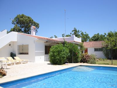 Photo for typical Andalusian house with pool within walking distance to the beach