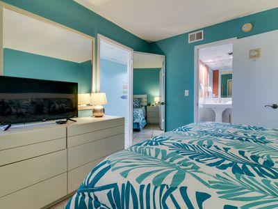 Photo for Beach and pool access, beautiful oceanfront views from balcony, and Netflix!