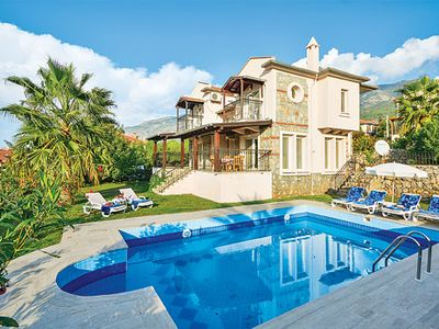 Photo for Spacious villa close to a popular resort, with pool, sun terrace and free Wi-Fi