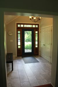 Large front entry