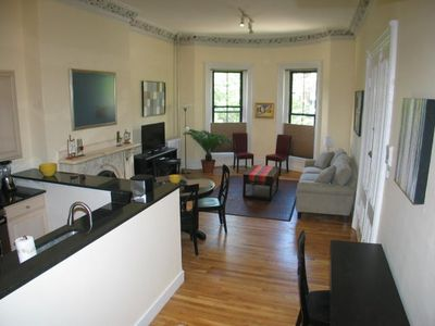 Photo for Large and grand parlor 2 bedroom in the South End by Copley Square