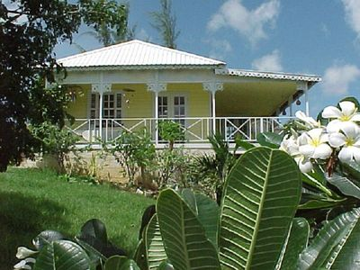 Photo for Gingerbread Cottage with pool. Nr Holetown
