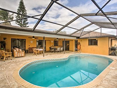 Photo for Cape Coral House w/ Private Lanai & Heated Pool!