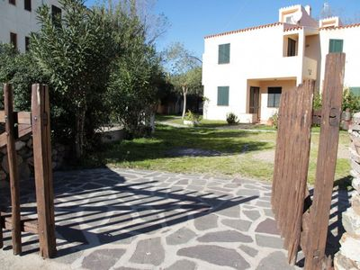 Photo for Villa a few steps from the sea with large garden and private entrance