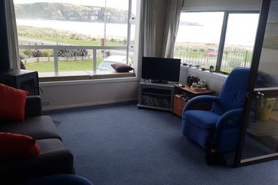Lounge - Warm and comfy with amazing views