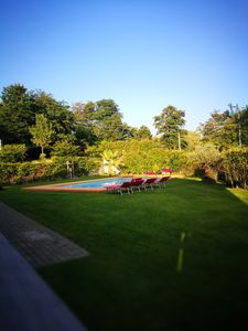 Photo for Well accessible villa with garden and swimming pool just 200 meters from the lake