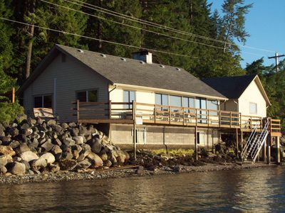 Epic Views! Waterfront near Alderbrook. Union City Beach House at Hood Canal