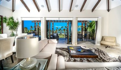 Living room view of the ocean