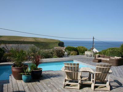 Photo for Ocean sanctuary, private heated swimming pool, and 2 minute walk to beach...