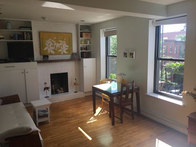 Photo for Great location: 1 BR in Park Slope - light and beautiful