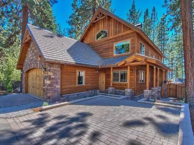 Photo for Lake Tahoe custom home w/Lake views & private hot tub