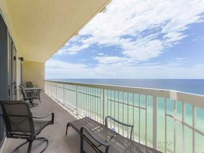 Photo for Beautiful waterfront condo w/ shared pool, hot tub, gym, & beach access