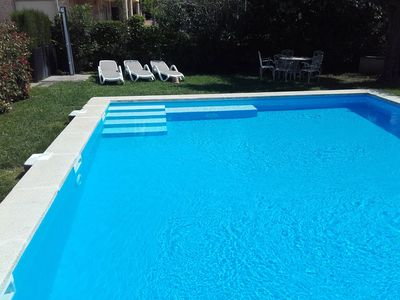 Photo for Detached house with a large garden and a huge pool