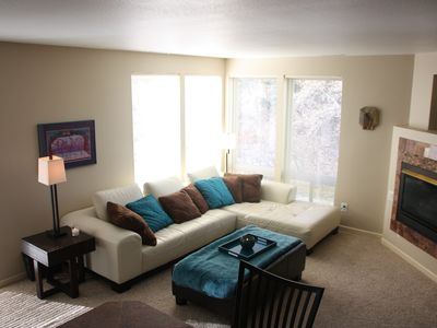 Photo for Perfect Ground Floor 2 Bed/2 Bath. Low Weekly rates and Discounts, Near slopes.