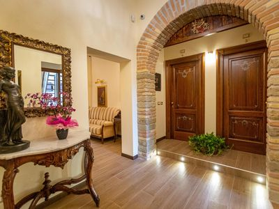 Photo for Kings Home In Rome is a 19th century apartment in Piazza Vittorio Emanuele II