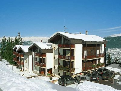 "Photo for The ""Hameau"" residence is situated on the second level of les Collons, close to the ski lifts, to th"