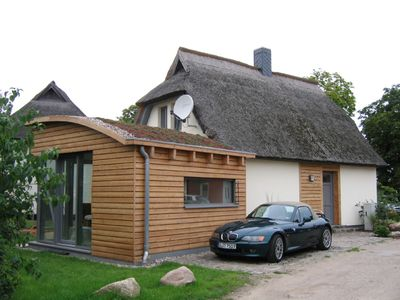Photo for Rural vacation house, stylishly furnished, 5 minutes from the beach