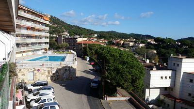 Photo for Small apartment with fantastic view, wifi, parking.